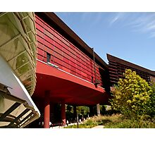 Quai Branly: shades of red Photographic Print