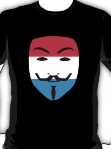 Anonymous Luxembourg T Shirts, Stickers and Other Gifts T-Shirt