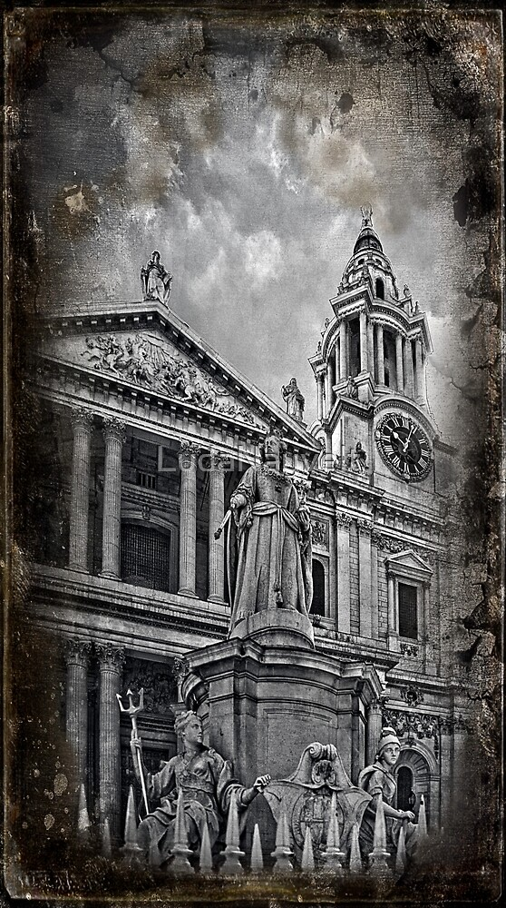 St Paul's Cathedral, London by LudaNayvelt