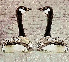 A Monogamous Pair by Jean Gregory  Evans