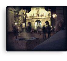 shadows of Prague Canvas Print