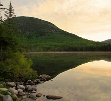Cannonball Sunrise at Lonesome Lake by Chad Council