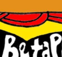 pi beta phi burger Sticker