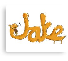 Adventure Time - Viola Playing Jake Canvas Print