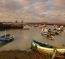 Paddy's Hole, South Gare, Redcar, Cleveland by James Paul