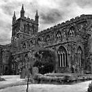 Parish Church, Crediton, Devon by Squealia
