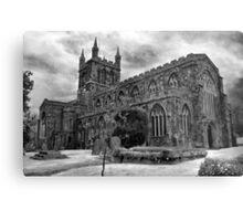 Parish Church, Crediton, Devon Metal Print