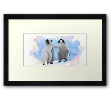 penguins Framed Print