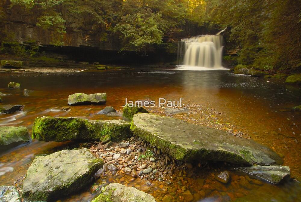 Cauldron Falls, West Burton, Bishopdale, Yorkshire Dales by James Paul