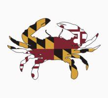 Maryland Flag Crab by welikestuff