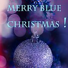Merry Blue Christmas by LudaNayvelt
