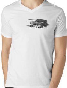 Maus Mens V-Neck T-Shirt