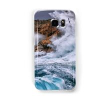 Gale with huge waves crashing Samsung Galaxy Case/Skin