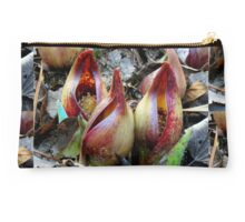 Skunk Cabbage - Spathe With Spadix  Studio Pouch