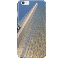 Gold, Black and Blue Geometry - Royal Bank Plaza iPhone Case/Skin