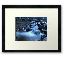 Hunters Creek Cascades Framed Print