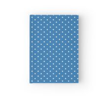 Blue Polka Dots Hardcover Journal