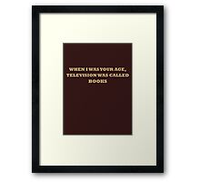 The Princess Bride Quote Framed Print