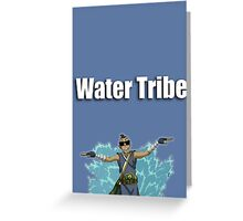 Water Tribe Greeting Card