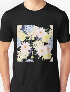 Summer Floral Pattern Unisex T-Shirt