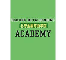 Beifong Metalbending Academy Photographic Print