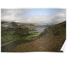 Patterdale view from the mountain Poster