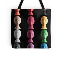 Polystyrene Heads - A Typology Tote Bag