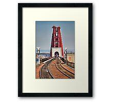 Rail Route Over Forth Bridge Framed Print