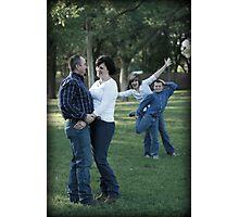 Modern Family Portrait Photographic Print