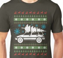 xmas wagon (lifted) Unisex T-Shirt