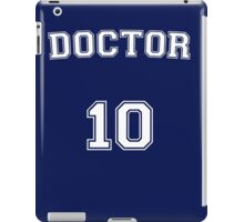 Doctor # 10 iPad Case/Skin