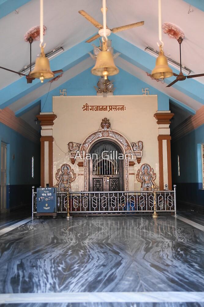 A Hindu temple by Alan Gillam