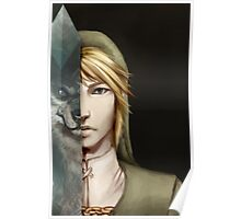 Link Twilight Princess Poster