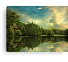 Summer Reflections Canvas Print
