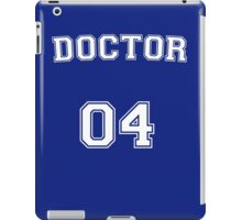 Doctor # 04 iPad Case/Skin