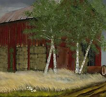 """""""Old Man Walker's Barn""""... prints and products by © Bob Hall"""