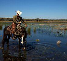 """""""Cracker Cowboy""""- Cowboy Sunrise by Timothy Clark"""