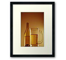 White wine Framed Print