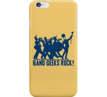 BAND GEEKS ROCK iPhone Case/Skin