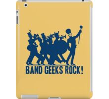 BAND GEEKS ROCK iPad Case/Skin