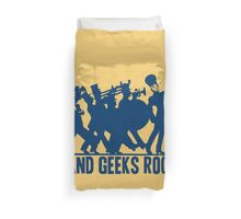 BAND GEEKS ROCK Duvet Cover