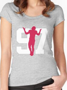 No. 97 Women's Fitted Scoop T-Shirt