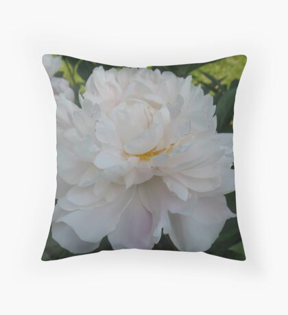 Traceable Peony Throw Pillow