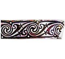 Sprial Knotwork Poster