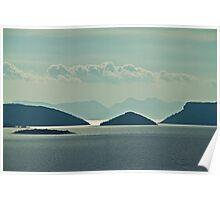 Beautiful Islands of Croatia Poster