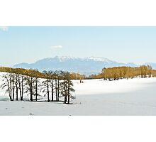 Snowy pass above Escalante, UT Photographic Print