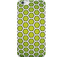 Hex Bloom - Lime iPhone Case/Skin