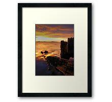 Sunrise at Lauderdale Framed Print