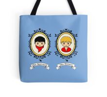 Arthur and Merlin Double Frames Tote Bag