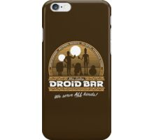 Droid Bar iPhone Case/Skin